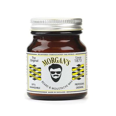 Вакса за брада и мустаци Morgan's Beard and Moustache Wax 50 гр.