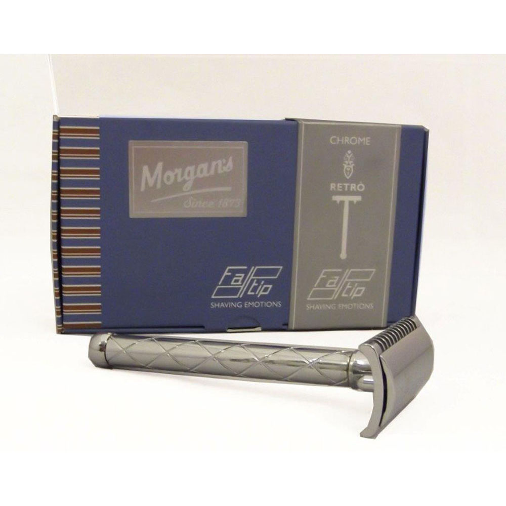 Хромирана самобръсначка Morgan's Gentle Shaver