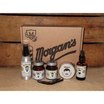 Подаръчен комплект За брада и мустаци Morgan's Moustache and Beard Gift Set