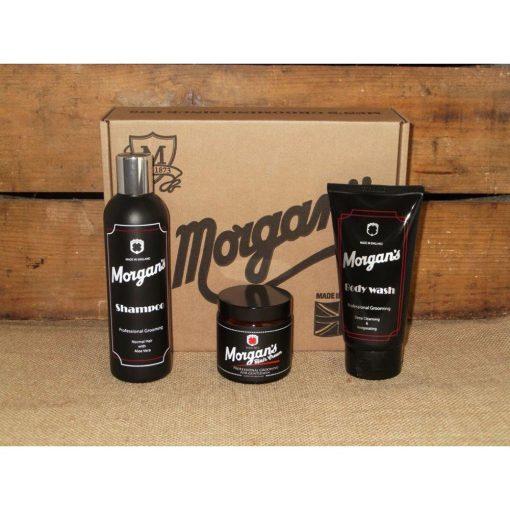 Подаръчен комплект с козметика за мъже Morgan's Gentleman's Grooming Gift Set