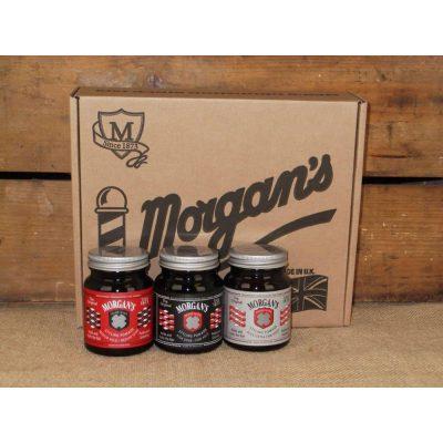 Подаръчен комплект с брилянтини Morgan's Pomade Gift Set