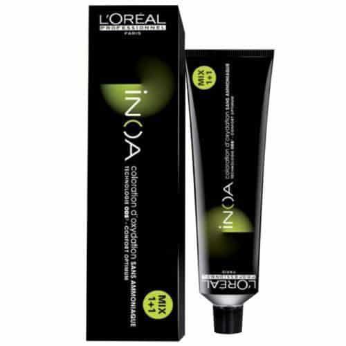 Професионална безамонячна боя за коса INOA LOreal Professionnel. С иновативна технология ODS – (OIL DELIVERY SYSTEM) която е единствената технология основана на базата на масла