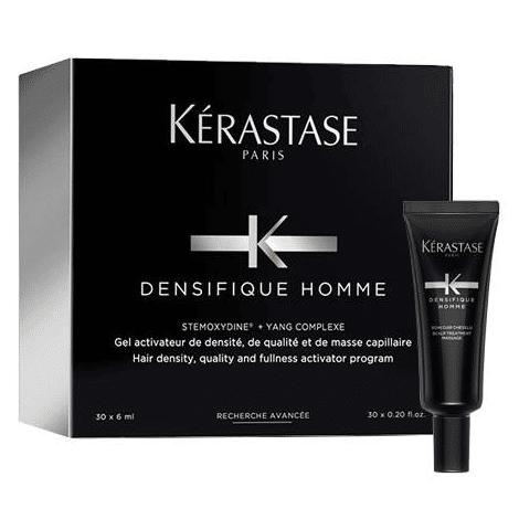 Терапия за сгъстяване на косата и възстановяване растежа на косъма за мъже кутия ампули Kerastase Densifique Homme