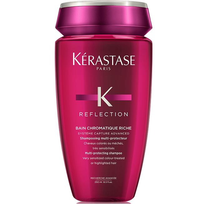 Шампоан за блясък на плътна боядисана коса Kerastase Reflection Bain Chroma Riche