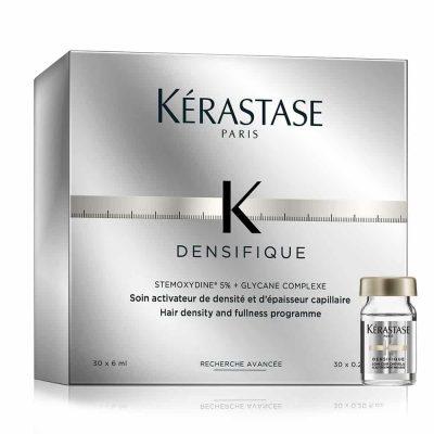 Терапия за сгъстяване на косата и възстановяване растежа на косъма кутия ампули Kerastase Densifique