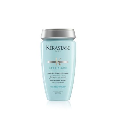 Хипоалергенен почистващ и успокояващ шампоан за сух скалп Kerastase Bain Riche Dermo-Calm 250 мл