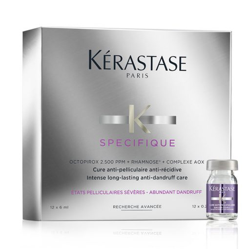 Ампули против пърхот Kerastase Specifique Cure Anti-pelliculaire Anti-Recidive 12x6 мл