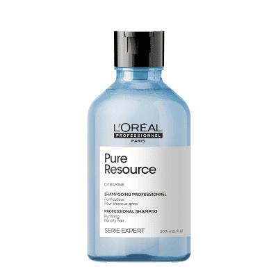 Дълбоко почистващ шампоан за нормална до мазна коса LOreal Professionnel PURE RESOURCE 300 мл
