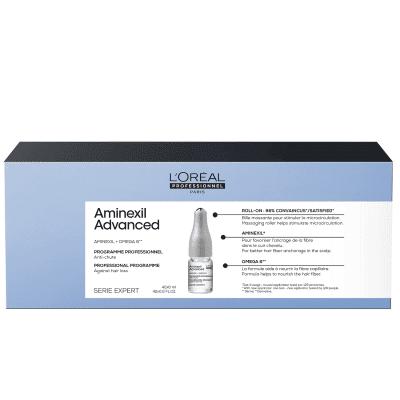 Интензивна програма за изтъняваща коса и косопад ампули LOreal Professionnel Aminexil Advanced 42 х 6 мл