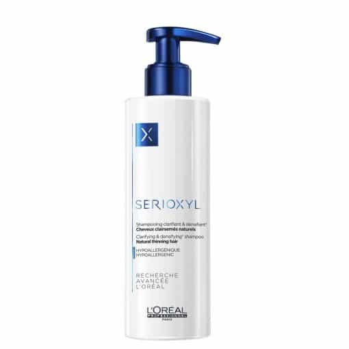 Шампоан за обем на изтъняваща естествена коса LOreal Professionnel Serioxyl Natural Thinning Nair 250 мл