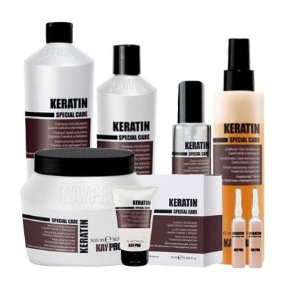 KERATIN - серия за увредени киси с кератин