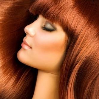 За боядисана коса