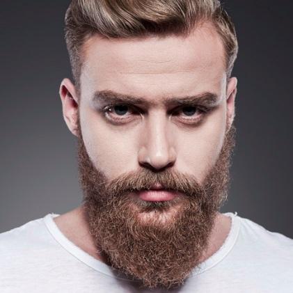 За брада