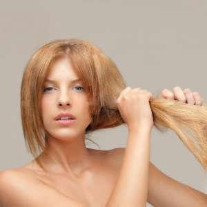 Изтощена коса против накъсване