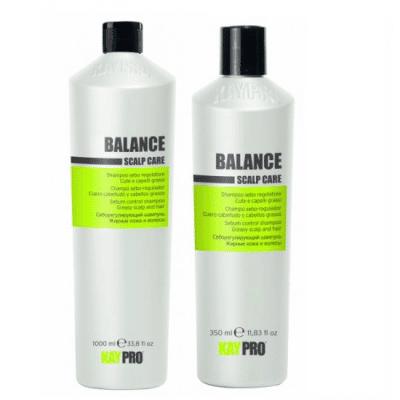 BALANCE - шампоан за мазни коси и скалп, за контрол на себума