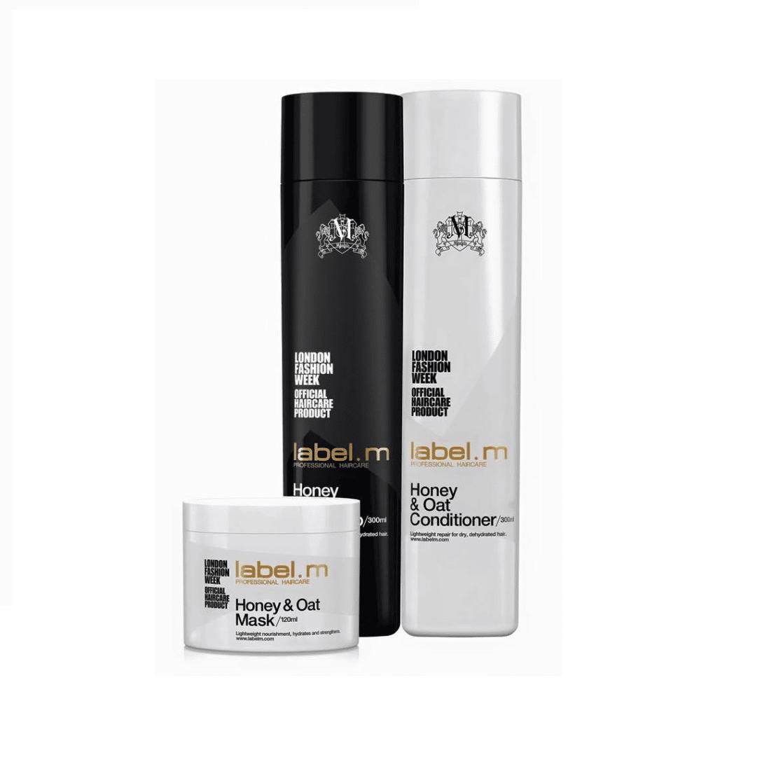 Honey & Oat - серия за суха коса, интензивно подхранване