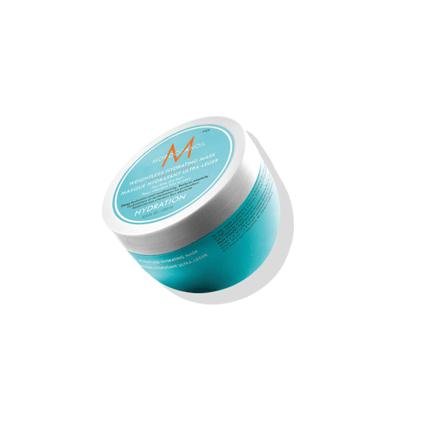 Хидратираща маска за суха коса Moroccanoil Weightless Hydrating Mask подходяща за тънка коса.