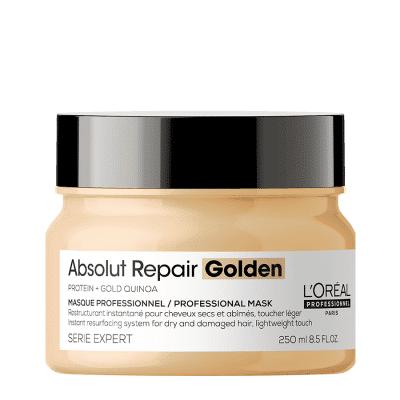 Златна маска за силно изтощена коса LOreal Professionnel ABSOLUT REPAIR 250мл