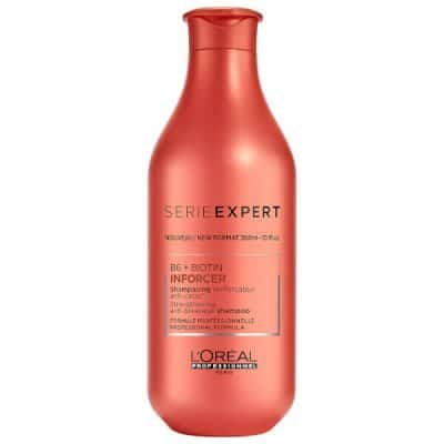 Уплътняващ шампоан за слаба накъсваща се коса с биотин LOreal Professionnel Inforcer Shampoo