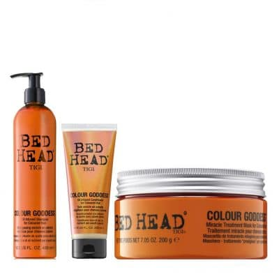 Bed Head Colour Goddess - Серия за поддържане и предпазване цвета на боядисаните коси с кератин и кокосово масло