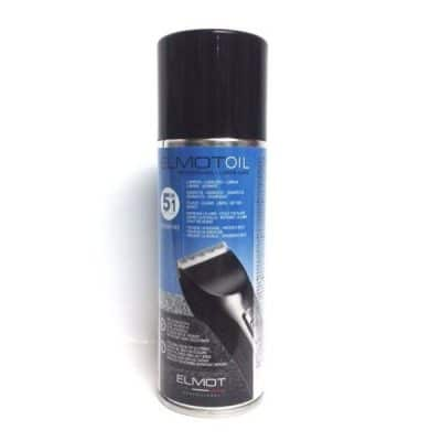 Спрей за почистване на машинки и тримери за подстригване 5 в 1 GammaPiu Elmot Oil Spray