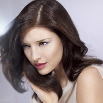 Спрей за покритие на бели коси