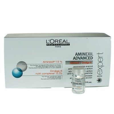 Интензивна програма за изтъняваща коса ампули LOreal Professionnel Aminexil Advanced 10x6 мл.
