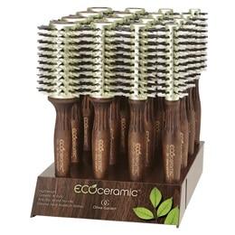 EcoCeramic Firm Thermal - Термоустойчиви четки за плътни и гъсти коси
