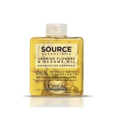 Натурален шампоан за суха коса LOreal Professionnel SOURCE ESSENTIELLE Nourishing Shampoo 300 мл