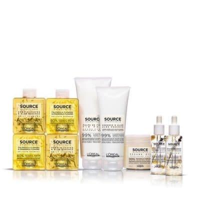 SOURCE ESSENTIELLE - натурални продукти за коса
