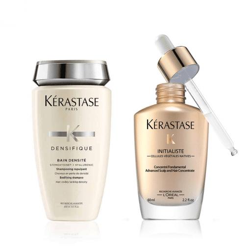 Комплект за сгъстяване и плътност и растеж на здрава коса шампоан и серум Kerastase