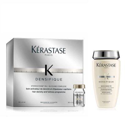 Комплект за сгъстяване и плътност шампоан и ампули терапия Kerastase Densifique