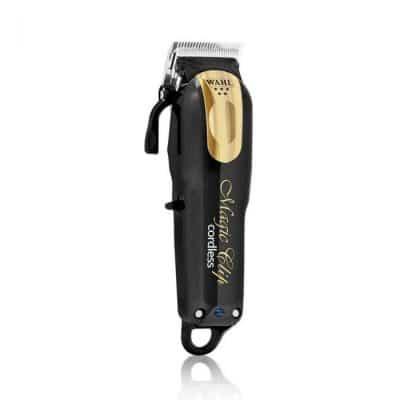 Професионална машинка за подстригване WAHL 8148-116 Magic Clip Pro Cordless Clipper 5 Stars Black & Gold limited Edition