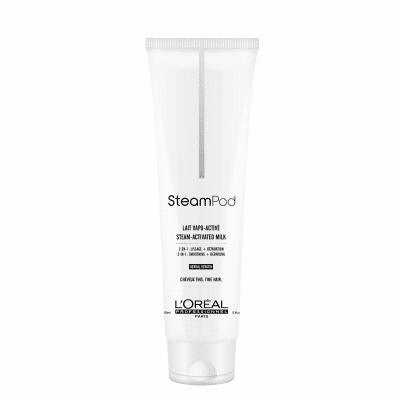 Изглаждащо термо защитно мляко за фина коса LOreal Professionnel Steampod Lait Vapo Active 150 мл
