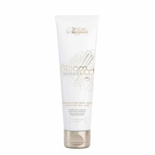Изглаждащ термо крем за гъста коса LOreal Professionnel Steampod Cream de Lissage