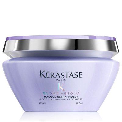 Маска за руса коса неутрализираща нежеланите топли отенъци Kerastase Blond Absolu Masque Ultra Violet Treatment 200 мл