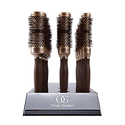 Професионални четки за обем от корена Olivia Garden Nanothermic Contour Ceramic + Ion Technologi