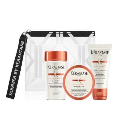Комплект за път за суха коса Kerastase Nutritive Travel Set