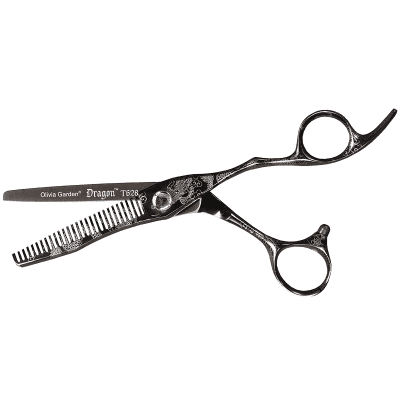 Фризьорска ножица филажна Olivia Garden DRAGON 6.28 F JAP