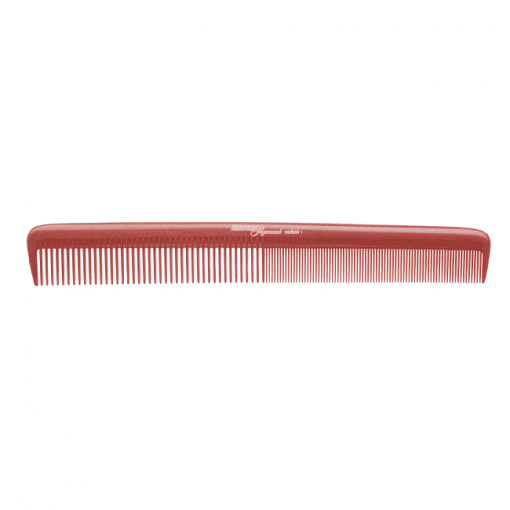 Фризьорски гребен 20.7 см HERCULES Sagemann CARBON HSC1 червен