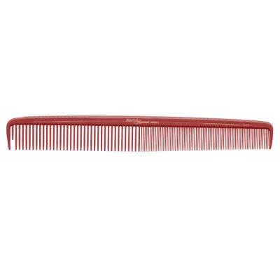 Фризьорски гребен 21.6 см HERCULES Sagemann CARBON HSC2 червен