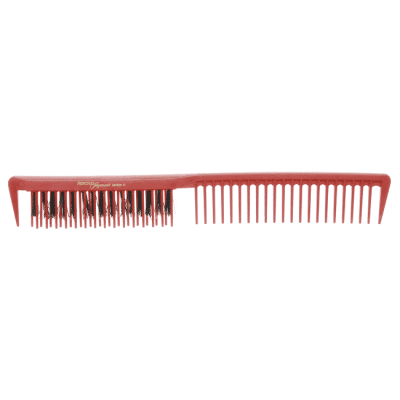 Фризьорски гребен 22.7 см HERCULES Sagemann CARBON HSC10 червен