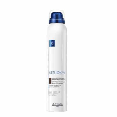 Оцветяващ спрей за плътност и обем за изтъняваща коса LOreal Professionnel Serioxyl Volumizing Brown Thinning Hair