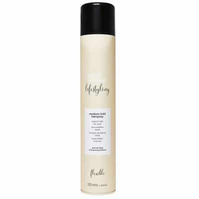 Лак за боядисана коса с киноа със средна фиксация Milk Shake Medium Hold Hairspray 500 мл