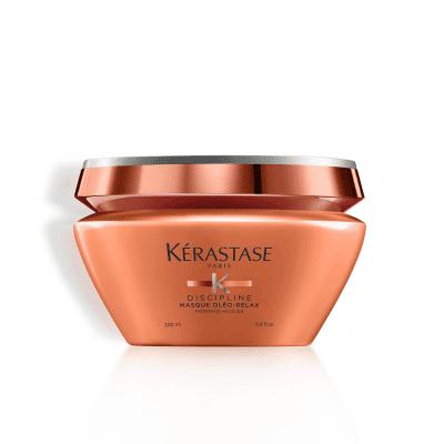 Маска за контрол и дисциплина на обемна и непокорна коса Kerastase Discipline Masque Oleo-Relax 200 мл