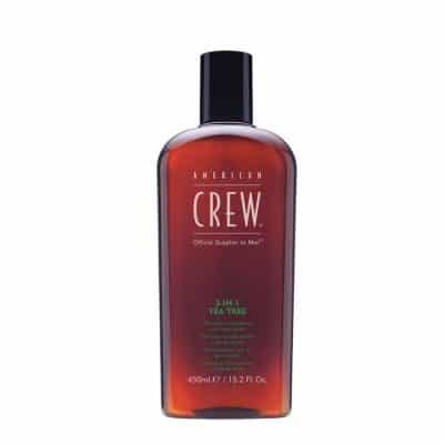 Шампоан балсам и душ гел 3 в 1 American Crew 3 in 1 Tea Tree