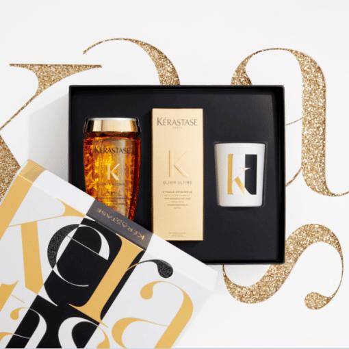 Коледна кутия комплект Kerastase Elixir Ultime за всеки тип коса