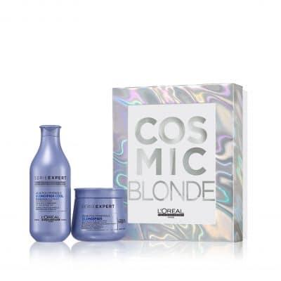 Комплект шампоан и маска за руса коса LOreal Professionnel Blondifier