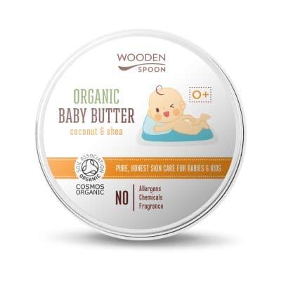 Бебешко натурално масло за тяло Wooden Spoon
