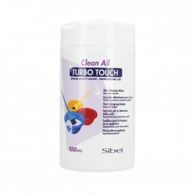 Кърпички почистване на боя от кожа Sibel Clean All Turbo Touch Wipes 100 бр